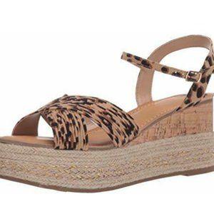Fergie Pardy Ankle Strap Sandal - Leopard - NIB